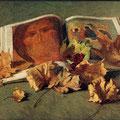 Лещёв.В.Л.Натюрморт со Спасом. 2002г. х.м.40х60