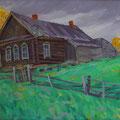 """Блинов А.Р. """"Забытый дом"""". 2010. х., м.  60х70"""