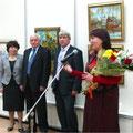 Бритова Н.К. Открытие юбилейной выставки. Г. Владимир. 14.01.2011