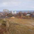 Плотников В.В..После дождя.Вечер.2012г.х.м.40х60