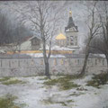 "Левахин В. А. ""Весна.Пасмурный день"".,60х80,х.,м.,2017г"