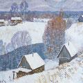 """Кувин А.И.  """"Зима"""".1978"""