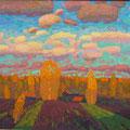 Хамков В.И..Осенние облака.2012г.х.м.90х85
