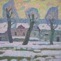 Хамков В.И..Морозный день. 2011г. х.м. 85х90