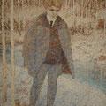"Лёвин М.К. ""Портрет С. А. Есенина"". 1961. Х.,м. 148х111,5. МИХМ"