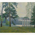 Жиков Б.В.  В старом парке х.м. 70х90  2006 г.