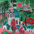 """Тимошкина Д.В. """"Весна."""" 2012. .Х.,м. 60х65"""