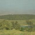 """Изотов М.Н. """"Летний день."""" 2004. Холст, масло 70х120 Частное собрание, Москва."""