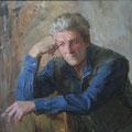 """Пирогов А.П. """"Портрет-этюд."""" Х.м. 2010г."""