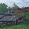 всхр Платонов С.В. Большая  георгиевская,дом 3. 2006 холст.масло45х50