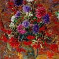 """Баранчук Н.Е. """"Осенний натюрморт"""".2008. Холст,масло.63х82"""