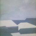 """Евграфов С,В. """"Ахроматическая зима"""" (ДВП, акрил; 115х75), 2009 г."""