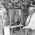 На даче Ф. Модорова во Внуково. 1962 г.