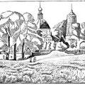 Шумов В.А. .В июне. 1983 линогравюра 40х58,5