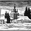 """Щегольков М.И. """"Вечер в Суздале""""."""