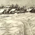"""Антонов В.М. """"Весна"""". 1998 г. Офорт, аквантина, 20х30,"""