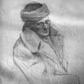 К.Бритов Портрет  Авреха 1950-е гг.
