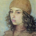 """Комаров А.А. """"Портрет студентки""""."""