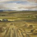"""Гуров А.Г. """"На краю пшеничного поля"""". 1978, б., акв., 45х60"""