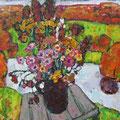 """Тимошкина Д.В. """"Осенний букет."""" 2009. Х.,м. 70х75"""