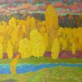 Хамков В.И..Золотая осень.2011г.х.м.85х90