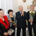 На открытии персональной выставки. 2011.
