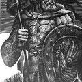 "Храменков С.В. ""Воин"".диптих ""Отечество"". 2009"