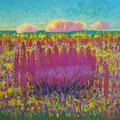 """Гринин Э.А. """"Степные травы"""". 2010 хмакрил. 95х100"""