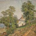 "Муром. ""Козьмодемьянская церковь"". 1940. Х.,м. 60х73.МИХМ"