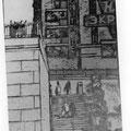 """Скорцов В.А. """"Дворец пионеров. Переход"""". 1961, л.г. 45х20"""