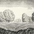 Шумов В.А. .Травы спеют 1979 офорт.
