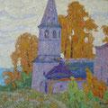 Модоров О.Н..осень в  Любце 50х60 х.м 2011г.