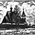 """Храменков С.В. """"Зимний ппейзаж"""". л.г.  2008"""