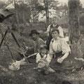 Целебровский  П.И. с семьёй.