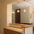 L'aménagement intérieur finalisé : la réception