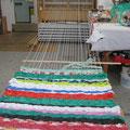 Atelier-Test, Plastiktüten zu weben