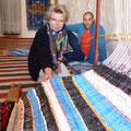 erster Teppich