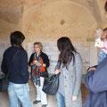 Gespräche mit Besuchern