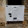 Kinderzeichnung von Hotel-Ideen