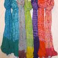 Shibori Tie Dyed