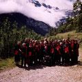 Photo de groupe réalisée lors d'une sortie