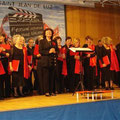 Reception de la chorale EKINZA de San Sebastian