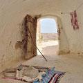 Domy berberyjskie, okolice Matmaty, Tunezja