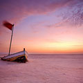 Słone jezioro Chott el Jerid, Tunezja