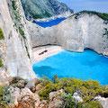 Navagio (Zatoka Wraku), Zakynthos, Grecja