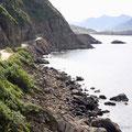 Küstenschotterweg Nysund - Hödal, Vesteralen, Norwegen
