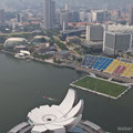 Singapore, View from Marina Bay Sands Hotel