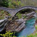 Ponte dei Salti, Verzascatal, Tessin, Schweiz