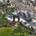 Burg Birseck, Arlesheim, Schweiz