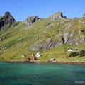 Kjerkefjorden, Lofoten, Norwegen